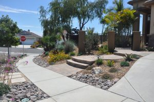 Water Wise Landscaping Design With Hardscape