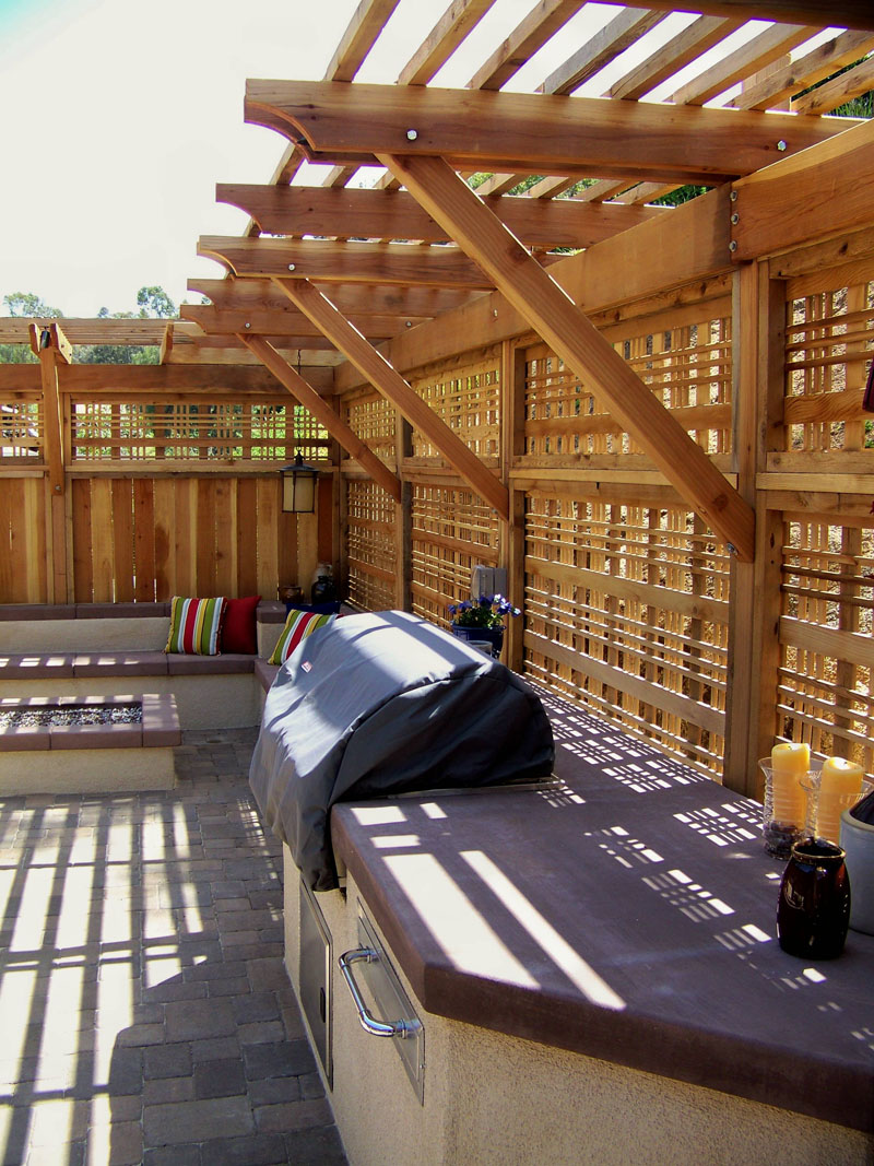 outdoor living landscape design after