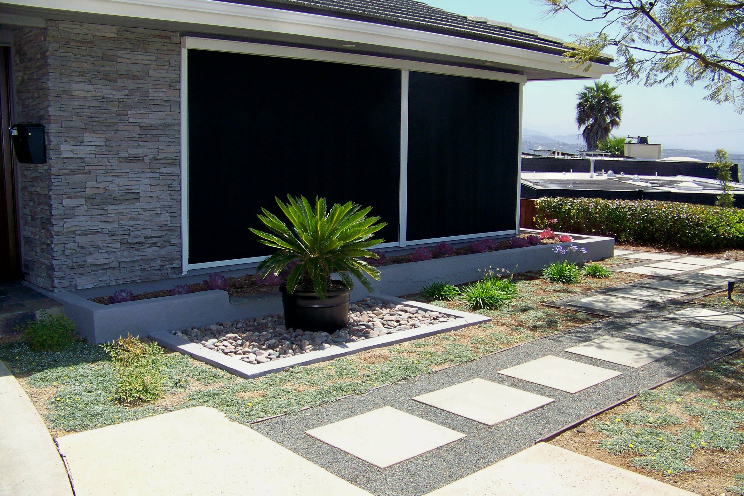 Backyard Design San Diego oceanside backyard landscape design 100_6556