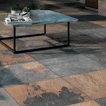 High end hardscape patio tiles