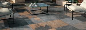 High end hardscape patio tiles